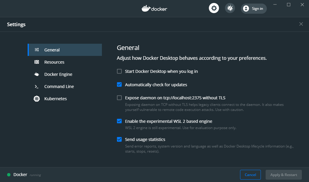 docker-settings-wsl2