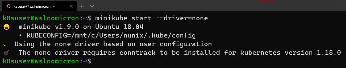 minikube-start-error